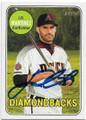 JD MARTINEZ ARIZONA DIAMONDBACKS AUTOGRAPHED BASEBALL CARD #42019A