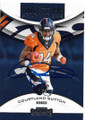 COURTLAND SUTTON DENVER BRONCOS AUTOGRAPHED ROOKIE FOOTBALL CARD #42019C
