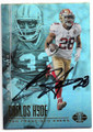 CARLOS HYDE SAN FRANCISCO 49ers AUTOGRAPHED FOOTBALL CARD #42219F
