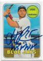 STEVE PEARCE TORONTO BLUE JAYS AUTOGRAPHED BASEBALL CARD #42219G
