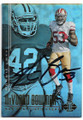 NaVORRO BOWMAN SAN FRANCISCO 49ers AUTOGRAPHED FOOTBALL CARD #42219H