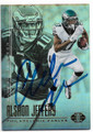 ALSHON JEFFERY PHILADELPHIA EAGLES AUTOGRAPHED FOOTBALL CARD #42419A