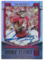 CALVIN RIDLEY UNIVERSITY OF ALABAMA CRIMSON TIDE AUTOGRAPHED ROOKIE FOOTBALL CARD #42419D