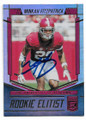 MINKAH FITZPATRICK ALABAMA CRIMSON TIDE AUTOGRAPHED ROOKIE FOOTBALL CARD #42419H