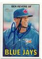 BEN REVERE TORONTO BLUE JAYS AUTOGRAPHED BASEBALL CARD #42619J