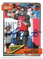 JAMEIS WINSTON TAMPA BAY BUCCANEERS AUTOGRAPHED FOOTBALL CARD #42719A
