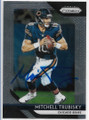 MITCHELL TRUBISKY CHICAGO BEARS AUTOGRAPHED FOOTBALL CARD #42919H
