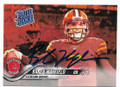 BAKER MAYFIELD CLEVELAND BROWNS AUTOGRAPHED ROOKIE FOOTBALL CARD #50319A
