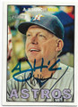 AJ HINCH HOUSTON ASTROS AUTOGRAPHED BASEBALL CARD #50319B