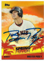 BUSTER POSEY SAN FRANCISCO GIANTS AUTOGRAPHED BASEBALL CARD #50419A