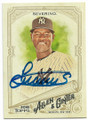 LUIS SEVERINO NEW YORK YANKEES AUTOGRAPHED BASEBALL CARD #50619E