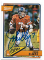 JOHN ELWAY DENVER BRONCOS AUTOGRAPHED FOOTBALL CARD #50719C