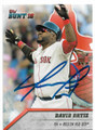 DAVID ORTIZ BOSTON RED SOX AUTOGRAPHED BASEBALL CARD #50819B