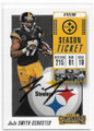JUJU SMITH-SCHUSTER PITTSBURGH STEELERS AUTOGRAPHED FOOTBALL CARD #50919A