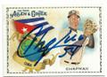 AROLDIS CHAPMAN NEW YORK YANKEES AUTOGRAPHED BASEBALL CARD #51419B