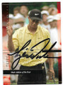 TIGER WOODS AUTOGRAPHED GOLF CARD #51419C
