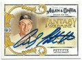 ANDY PETTITTE NEW YORK YANKEES AUTOGRAPHED BASEBALL CARD #52019A