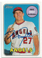 MIKE TROUT LOS ANGELES ANGELS OF ANAHEIM AUTOGRAPHED BASEBALL CARD #53019D