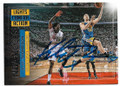 KLAY THOMPSON GOLDEN STATE WARRIORS AUTOGRAPHED BASKETBALL CARD  #60519C