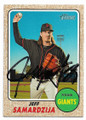 JEFF SAMARDZIJA SAN FRANCISCO GIANTS AUTOGRAPHED BASEBALL CARD #60719A
