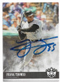 FRANK THOMAS CHICAGO WHITE SOX AUTOGRAPHED BASEBALL CARD #61819D