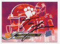 TREVOR LAWRENCE CLEMSON UNIVERSITY TIGERS AUTOGRAPHED ROOKIE FOOTBALL CARD #61819E