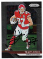 TRAVIS KELCE KANSAS CITY CHIEFS AUTOGRAPHED FOOTBALL CARD #61919A