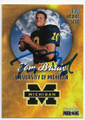 TOM BRADY UNIVERSITY OF MICHIGAN WOLVERINES AUTOGRAPHED ROOKIE FOOTBALL CARD #61919E