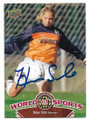 HOPE SOLO USA WOMENS OLYMPIC SOCCER AUTOGRAPHED CARD #62219E