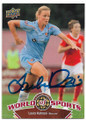 LAURA KALMARI FINLAND WOMENS NATIONAL TEAM AUTOGRAPHED SOCCER CARD #62219F