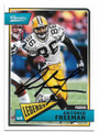 ANTONIO FREEMAN GREEN BAY PACKERS AUTOGRAPHED FOOTBALL CARD #62319D