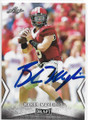 BAKER MAYFIELD OKLAHOMA SOONERS AUTOGRAPHED ROOKIE FOOTBALL CARD #62419A