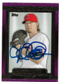 JERED WEAVER LOS ANGELES ANGELS OF ANAHEIM AUTOGRAPHED BASEBALL CARD #62419B