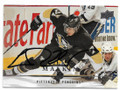 EVGENI MALKIN PITTSBURGH PENGUINS AUTOGRAPHED HOCKEY CARD #62519D