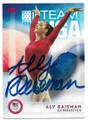 ALY RAISMAN USA OLYMPICS GYMNASTICS AUTOGRAPHED CARD #62819E