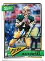 DON MAJKOWSKI GREEN BAY PACKERS AUTOGRAPHED FOOTBALL CARD #62919F