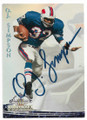 OJ SIMPSON BUFFALO BILLS AUTOGRAPHED FOOTBALL CARD #70519C