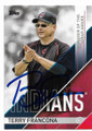 TERRY FRANCONA CLEVELAND INDIANS AUTOGRAPHED BASEBALL CARD #70619B