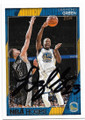 DRAYMOND GREEN GOLDEN STATE WARRIORS AUTOGRAPHED BASKETBALL CARD #70819D