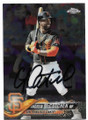ANDREW McCUTCHEN SAN FRANCISCO GIANTS AUTOGRAPHED BASEBALL CARD #71619B