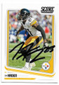 JOE HADEN PITTSBURGH STEELERS AUTOGRAPHED FOOTBALL CARD #71819A