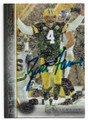 BRETT FAVRE GREEN BAY PACKERS AUTOGRAPHED FOOTBALL CARD #72319B