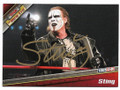 STING AUTOGRAPHED WRESTLING CARD #72519A