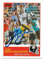 JUJU SMITH-SCHUSTER PITTSBURGH STEELERS AUTOGRAPHED FOOTBALL CARD #72619C