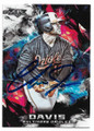 CHRIS DAVIS BALTIMORE ORIOLES AUTOGRAPHED BASEBALL CARD #72719C