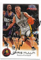 CHRIS MULLIN INDIANA PACERS AUTOGRAPHED BASKETBALL CARD #73019C