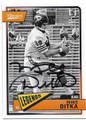 MIKE DITKA CHICAGO BEARS AUTOGRAPHED FOOTBALL CARD #73119A