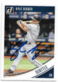 KYLE SEAGER SEATTLE MARINERS AUTOGRAPHED BASEBALL CARD #80119B