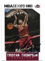 TRISTAN THOMPSON CLEVELAND CAVALIERS AUTOGRAPHED BASKETBALL CARD #80119C