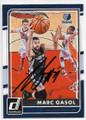MARC GASOL MEMPHIS GRIZZLIES AUTOGRAPHED BASKETBALL CARD #80519B